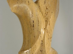 Marmor, Travertin, beige