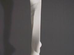 Marmor, Carrara, Stele, weiß