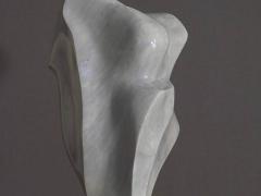 Marmor, Carrara, Torso, grau