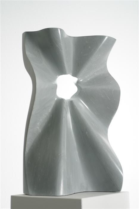 Welle grau, 55 cm