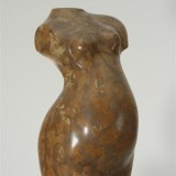 Torso braun, 52 cm Rosso di Verona