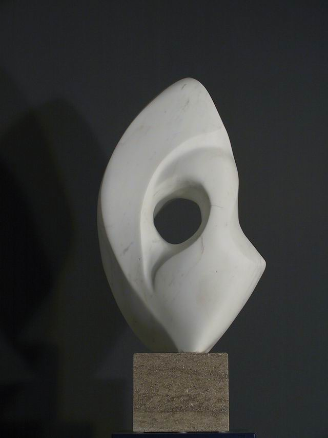 ohne Titel, 82 cm Marmor Carrara