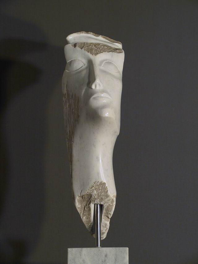 """Anmut"" 80 cm, Marmor Carrara"
